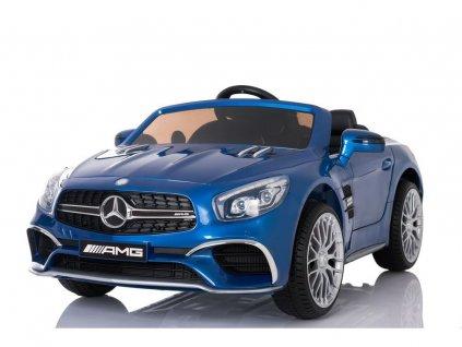 mamido Elektrické autíčko Mercedes SL65 LCD lakované modré 2