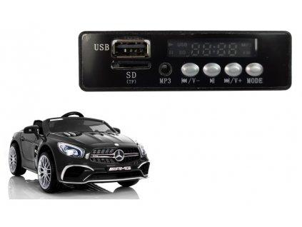Náhradní hudební panel pro elektrická autíčka mp3 mercedes sl65
