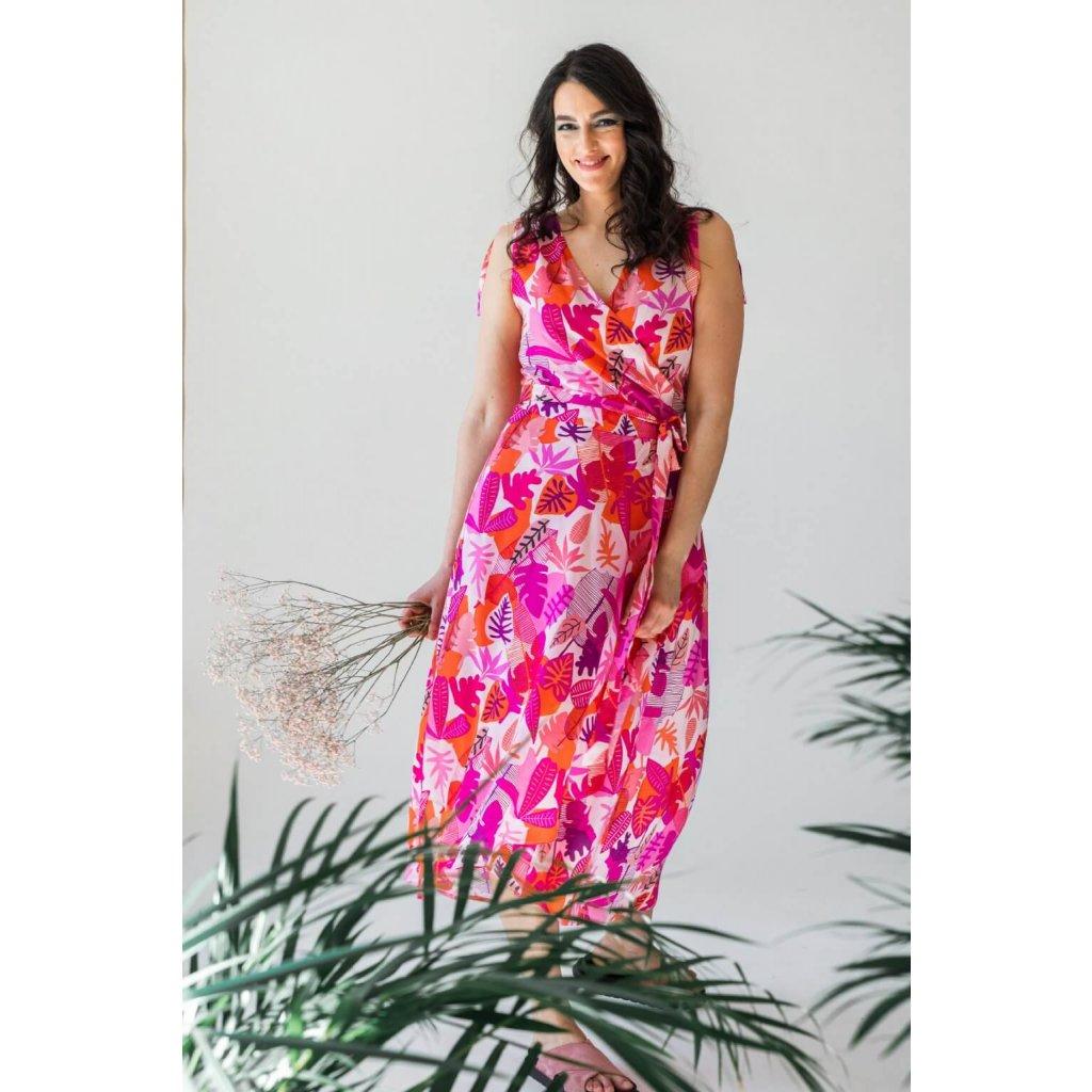 saty na dojcenie pink jungle