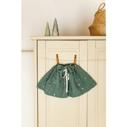 zelena suknicka