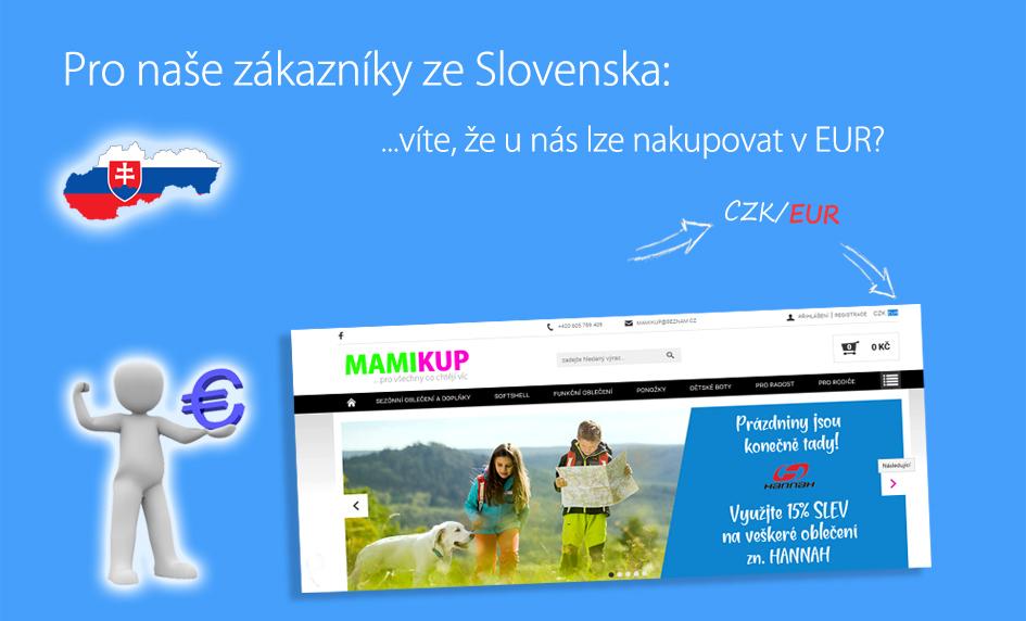 Platby i v EUR