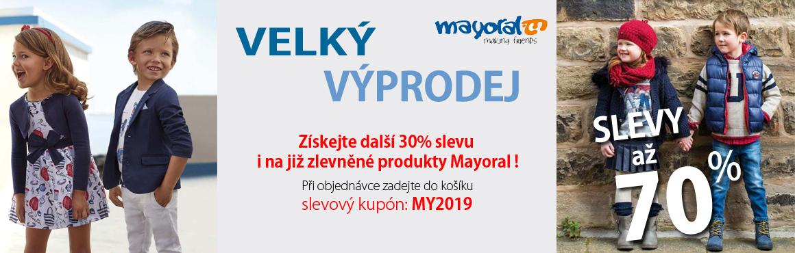 Mayoral výprodej