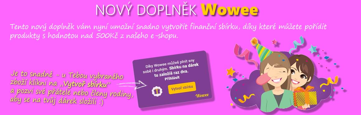 Využij nové aplikace Wowee