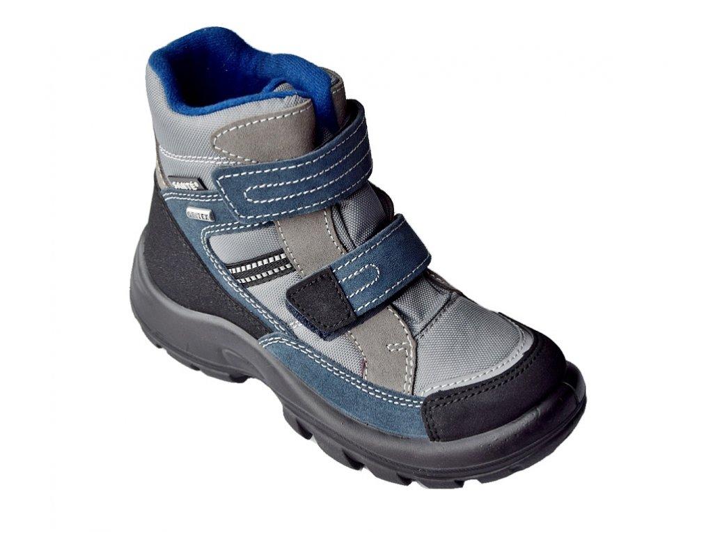eec8a1c72700 Dětská zimní obuv s membránou - SANTÉ BLUNOTTE - MAMIKUP