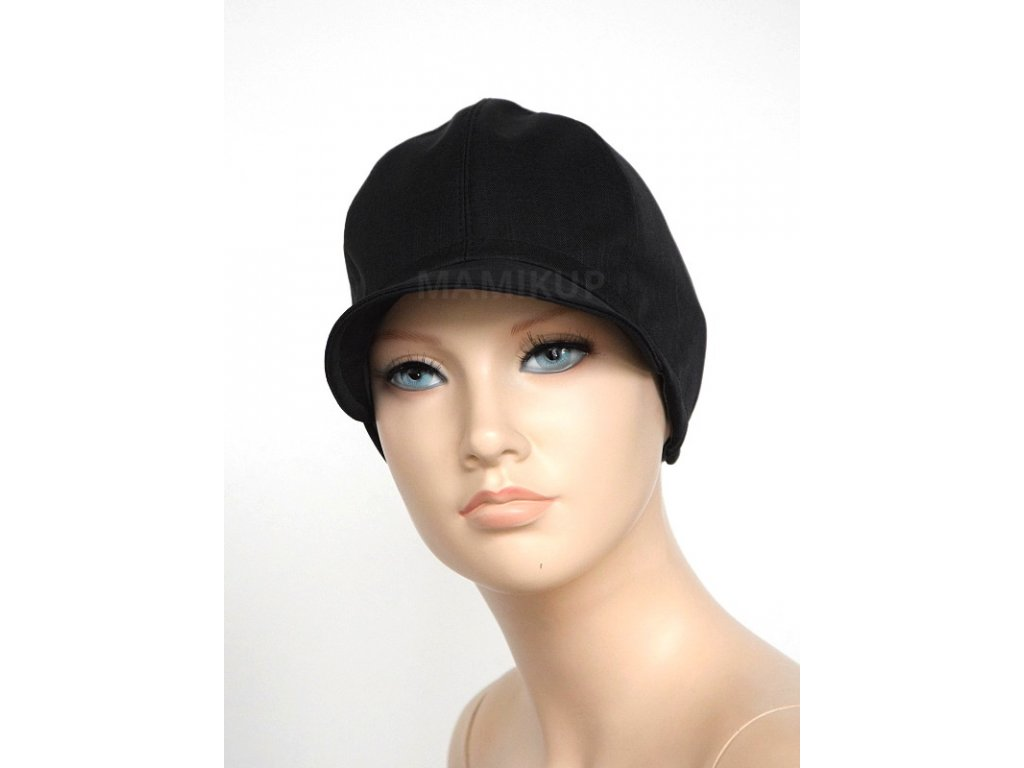 Softshellová čepice BAMBUS - černá