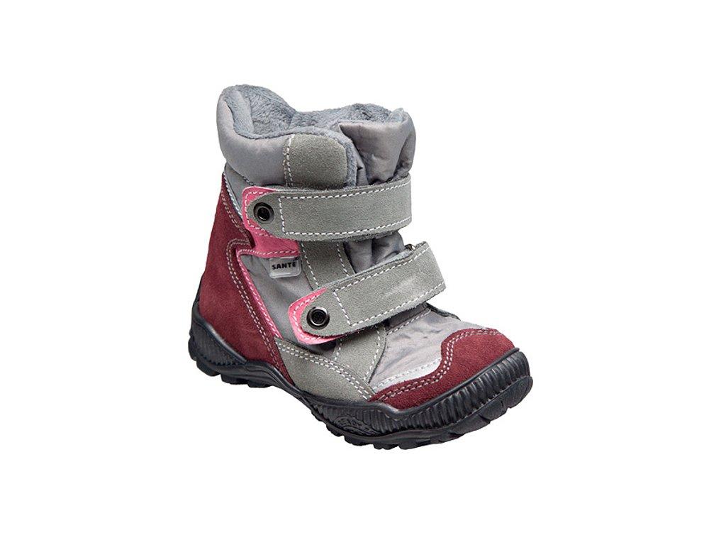 b5311030a28c Dětská zimní obuv s membránou - SANTÉ TRACKTOP