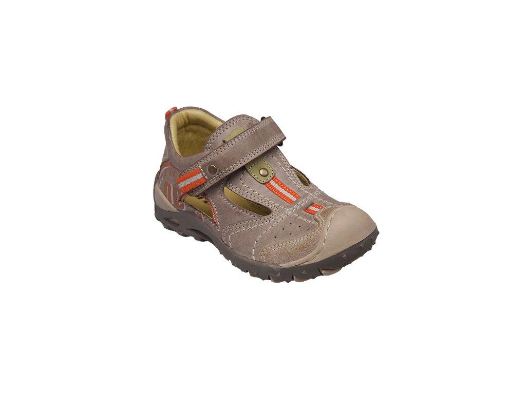 Dětská kožená obuv Santé Dingo, vel.35