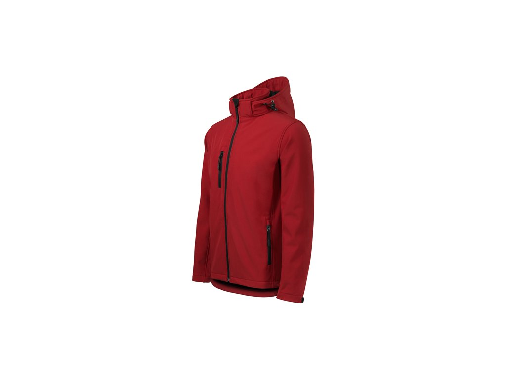 Pánská zateplená softshellová bunda Adler s kapucí - 2 barvy