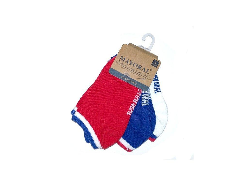 Nízké ponožky Mayoral - trojbalení