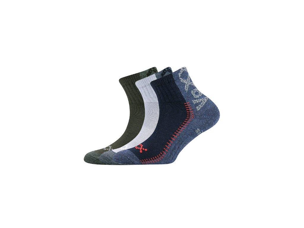 b7fa8954326 Dětské ponožky Voxx REVOLTIK - TROJBALENÍ - MAMIKUP