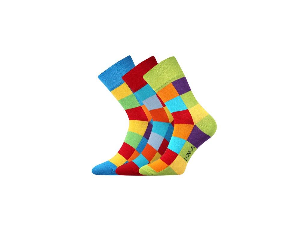 50f098acc81 Pánské BAREVNÉ ponožky Voxx DECUBE - 6 barev - MAMIKUP