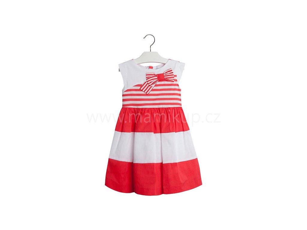 Letní šaty Mayoral MARINE S MAŠLÍ - červené - MAMIKUP bea50712fae