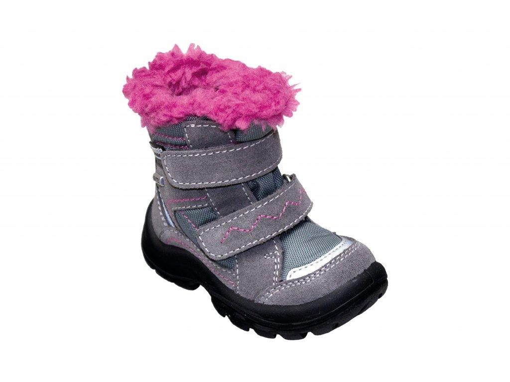 59c22d3e7648 DÍVČÍ zimní obuv s membránou - SANTÉ PEPE - MAMIKUP