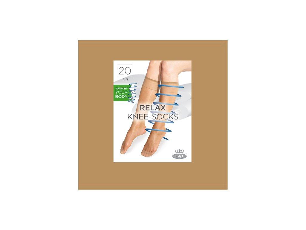 o 1504692354 Relax knee socks beige web