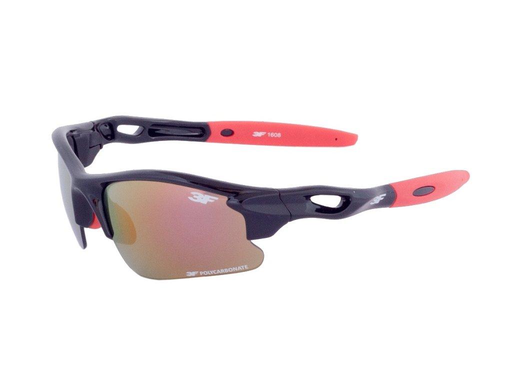 Dětské sluneční brýle 3F GEAR - černé