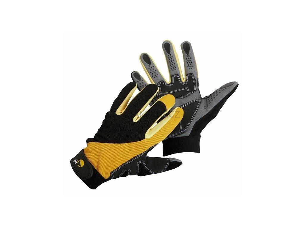 Pracovní rukavice CORAX - protiskluzové