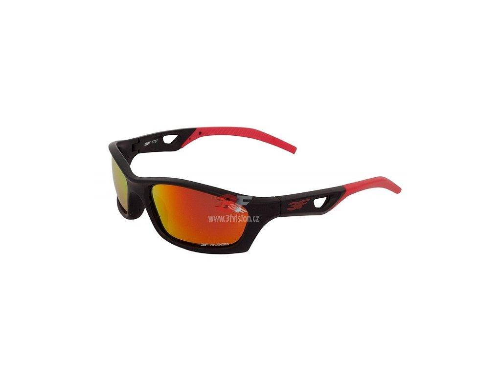Dětské POLARIZAČNÍ brýle 3F VERSO - červené