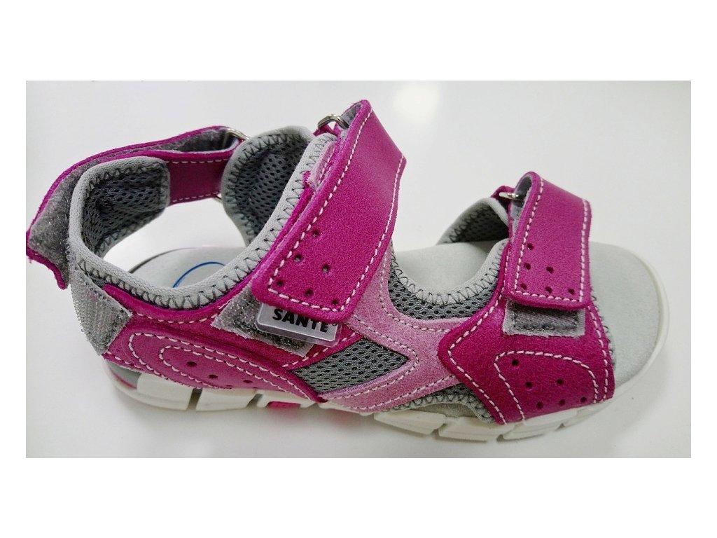 sandale ruzove 1