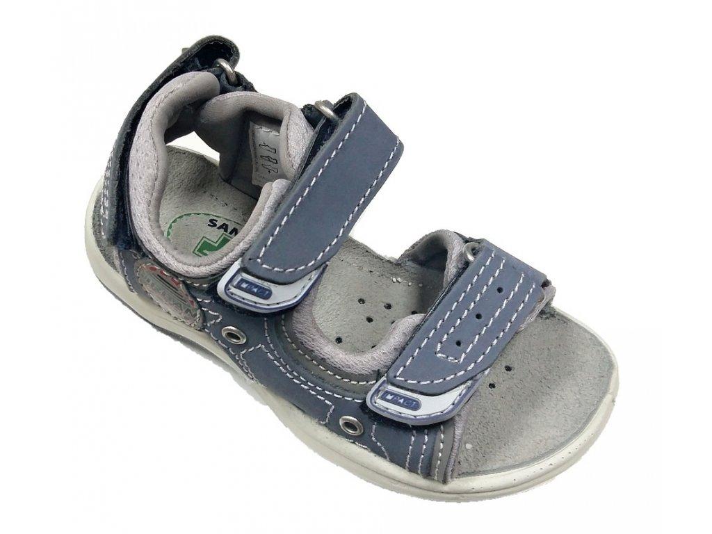 9bb345391b16 DĚTSKÉ sandálky Santé - modré DĚTSKÉ sandálky Santé - modré ...