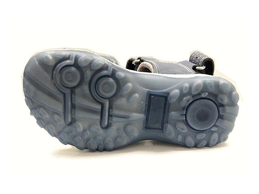 3d1913bfa052 DĚTSKÉ sandálky Santé - modré - MAMIKUP