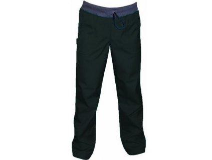 BAZAR - Softshellové kalhoty BAMBUS SLIM,černé - vel.110