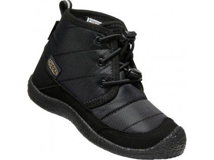 10016430KEN01 HOWSER II CHUKKA WP C BLACK BLACK