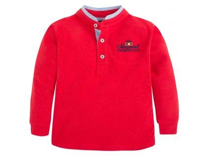 Chlapecké tričko se stojáčkem Mayoral - 2 BARVY