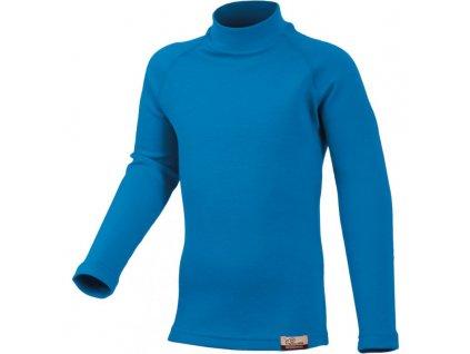 Dětské MERINO triko Lasting SONY - modré