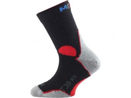 Dětské SLABÉ merino ponožky Lasting TJD - 5 BAREV
