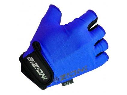 lasting cyklo rukavice s gelovou dlani gs34 modre
