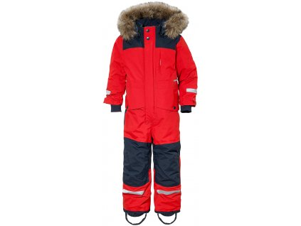 bjornen kids coverall red
