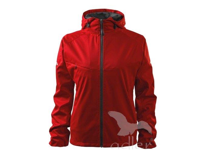 Dámská SLABÁ softshellová bunda s kapucí - 3 BARVY