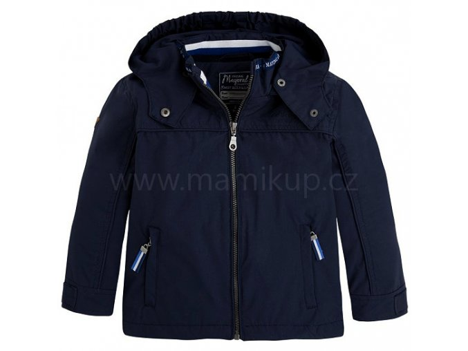 Chlapecká bunda WINDBREAKER Mayoral - modrá, vel. 128