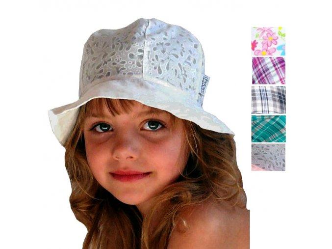 Letní bavlněný klobouček