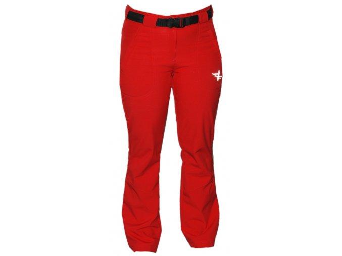 Dámské ZATEPLENÉ softshellové kalhoty DO PÁSKU - 5 barev