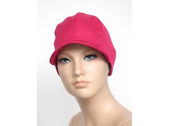 Softshellová čepice BAMBUS - růžová