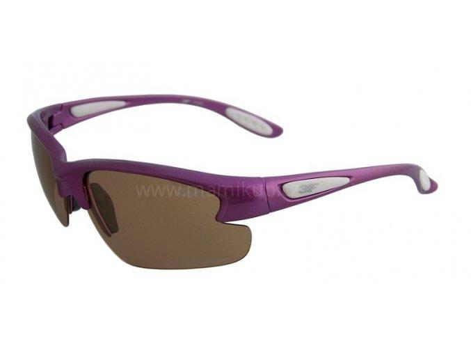 Fotopolarizační brýle pro dospělé - fialové