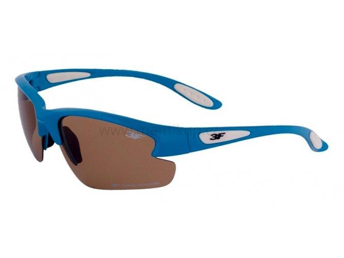 Fotopolarizační brýle pro dospělé - tyrkysovo bílé
