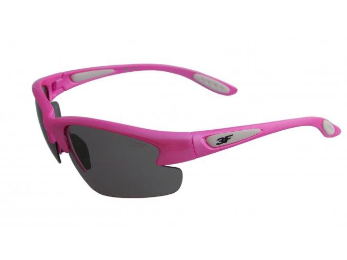 Fotopolarizační brýle pro dospělé - růžové