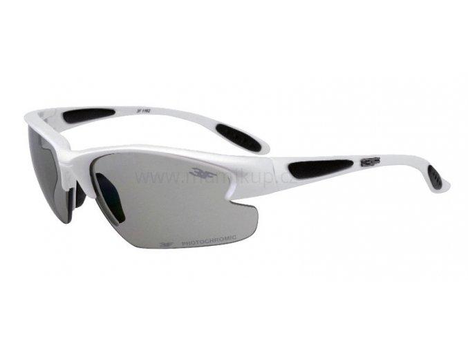 Fotopolarizační brýle pro dospělé - bílé