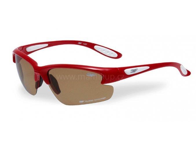 Fotopolarizační brýle pro dospělé - červené