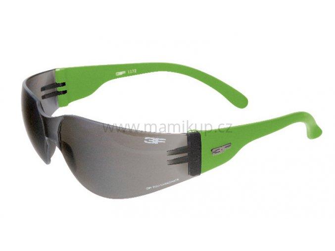 Dětské sluneční brýle 3F MONO JR - ZELENÉ