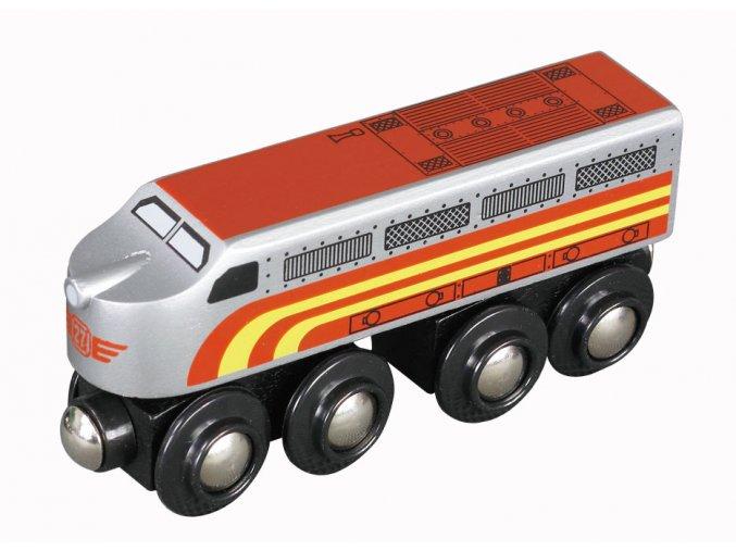 Lokomotiva Santa Fe Maxim 50489