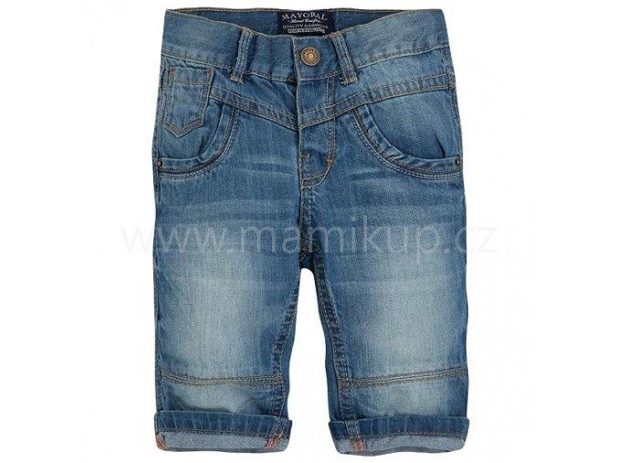 Chlapecké džínové šortky Mayoral
