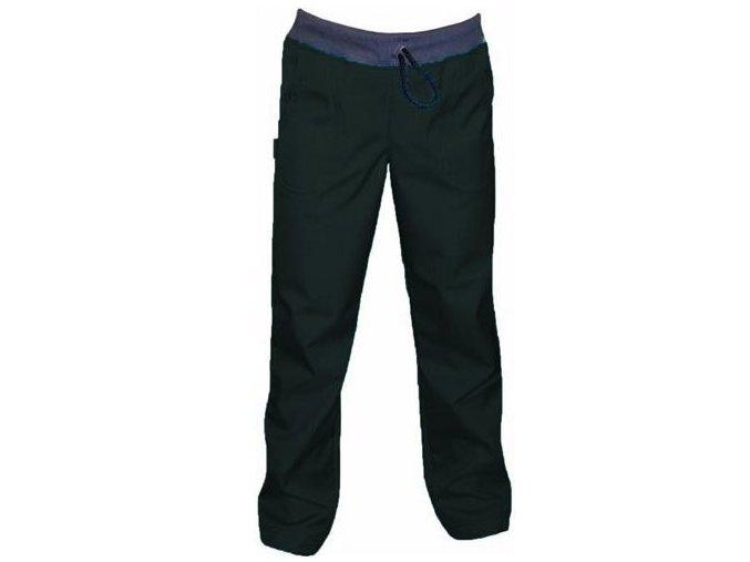 Softshellové kalhoty BAMBUS SLIM - ČERNÉ