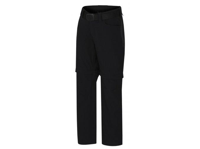 CHLAPECKÉ kalhoty s UV Hannah TOPAZ 2v1 - černé