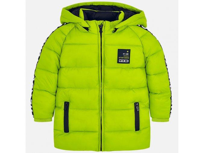 Chlapecká zimní PROŠÍVANÁ bunda MAYORAL - ZELENÁ