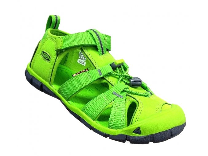 Sandály KEEN SEACAMP II CNX - zelené