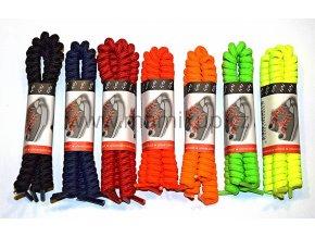 Nerozvazující kroucené tkaničky - 7 barev