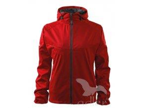 Dámská nezateplená softshellová bunda s kapucí - 3 BARVY